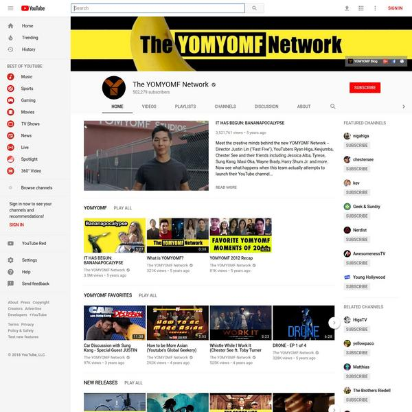 The YOMYOMF Network